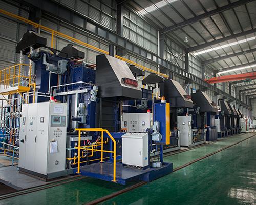 BM-1200燃气多用炉生产线