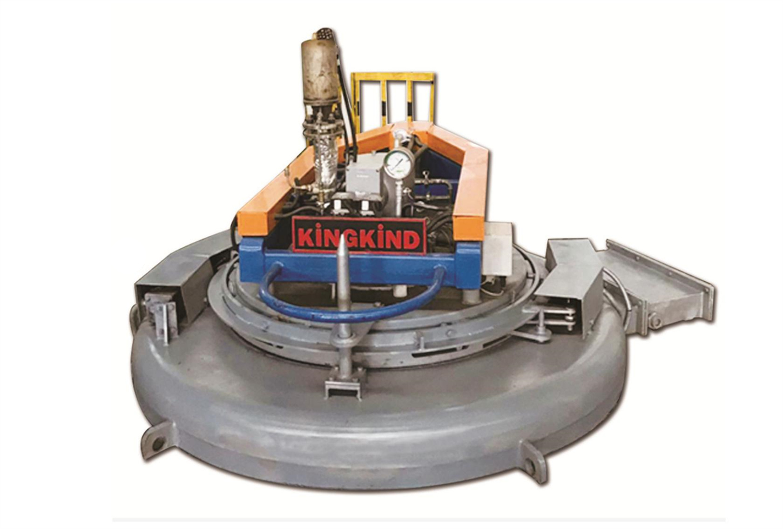 可控气体井式渗氮炉